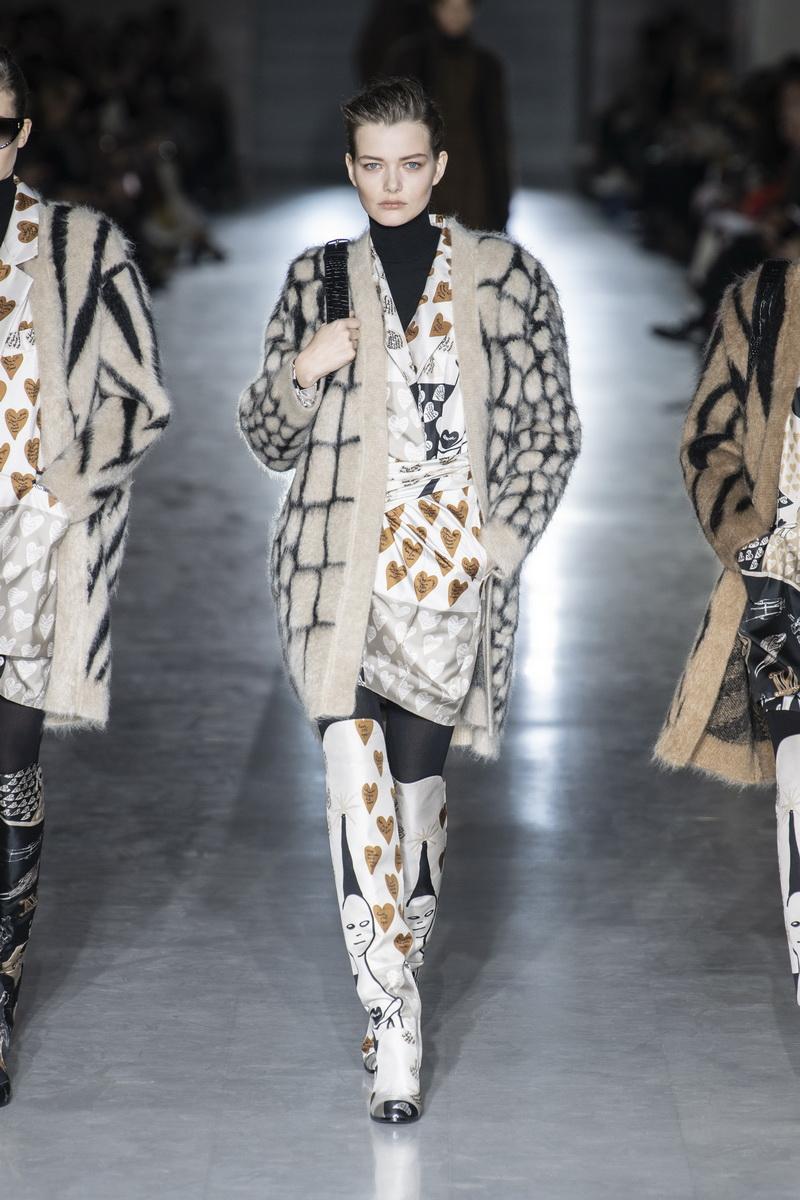 Max Mara mode collectie herfst winter 2019 2020
