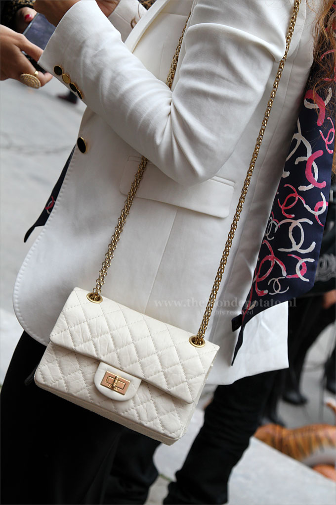 Chanel streetstyle Parijs september 2011