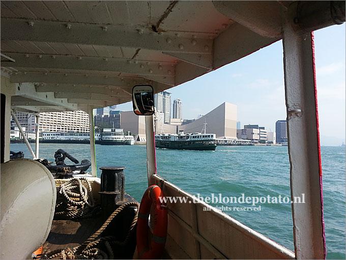 At Victoria Harbour, Hong Kong