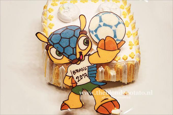 WK Koreaanse taart