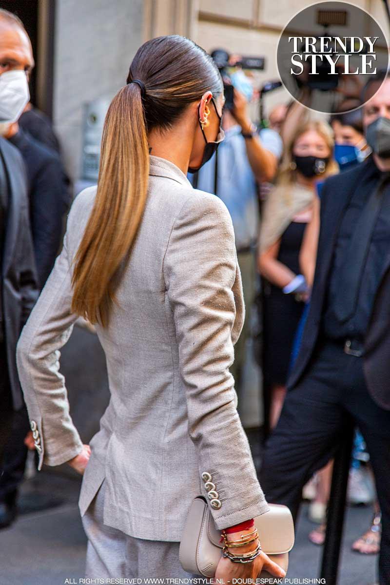 Haartrends 2021. Front row kapsels van de Fashion Week