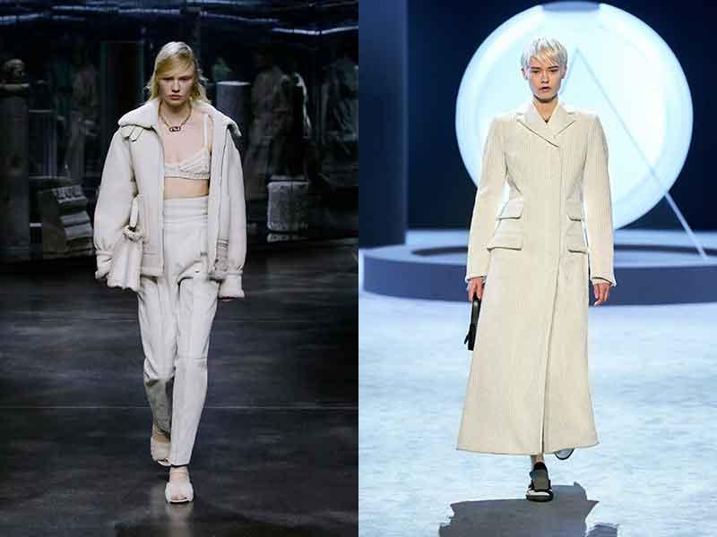 Modetrends herfst winter 2021 2022. Winterwit