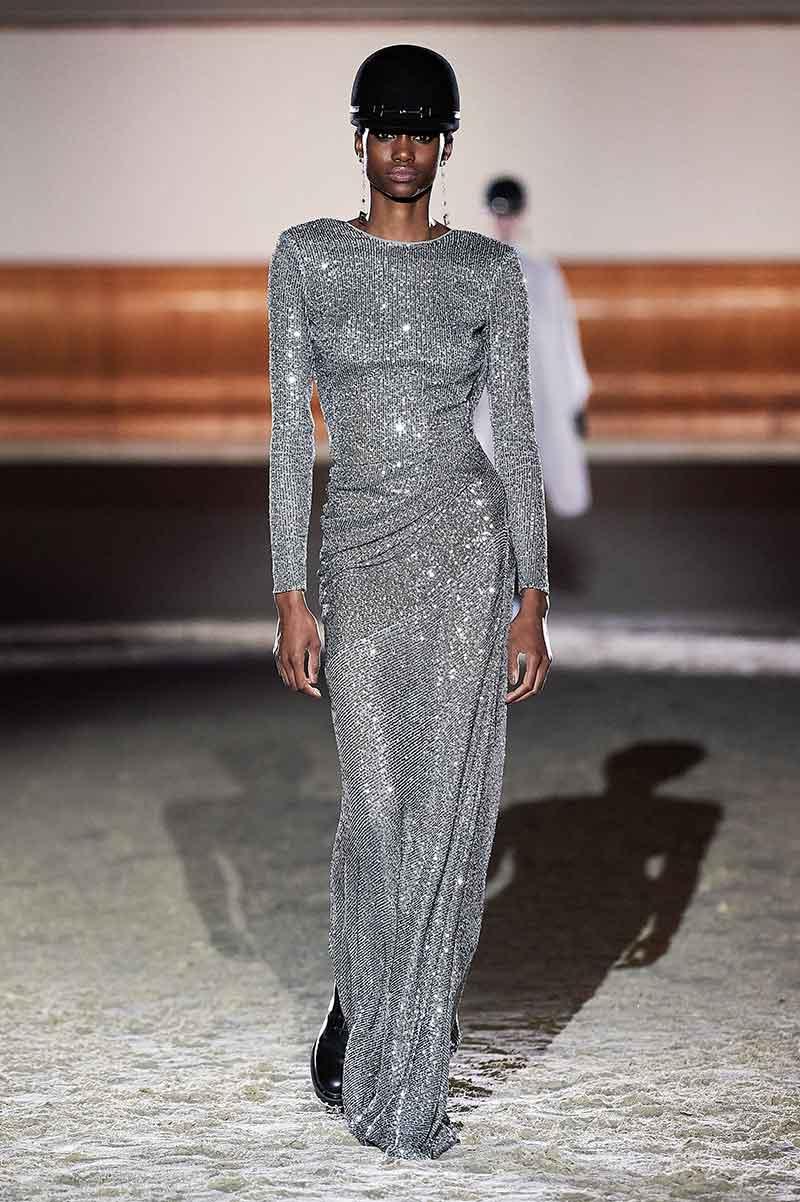 Modetrends herfst winter 2021 2022. Zilver(glitter)