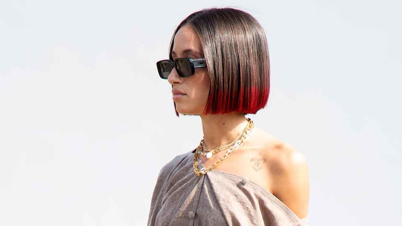 Haarkleurtrends winter 2021. Update je kapsel met een überstijlvol dip dye kleurrandje