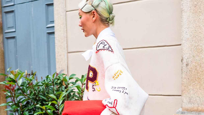 Milan Fashion Week. Streetstyle mode. Deze look is übercool! 10x Mode trends voor winter 2021
