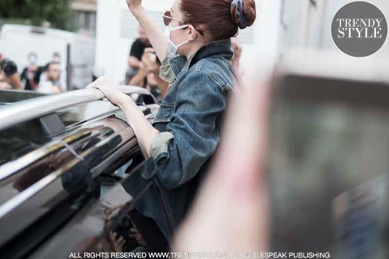 Milan Fashion Week lente zomer 2022. Modellen, mode influencers, backstage, streetstyle