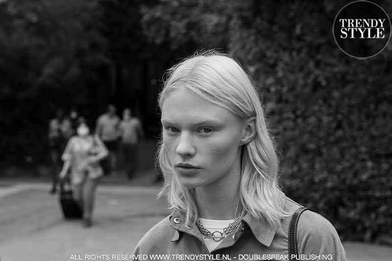 Milan Fashion Week zomer 2022 dag 5. Streetstyle & modellen off-duty