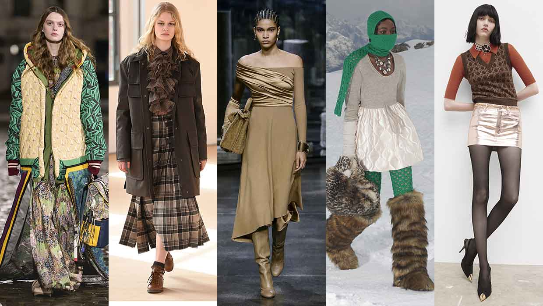 Modetrends winter 2021 2022. De roklengtes voor het nieuwe seizoen