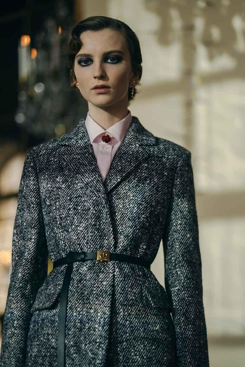 Modetrends winter 2021 2022. Bouclé, parels, tweed
