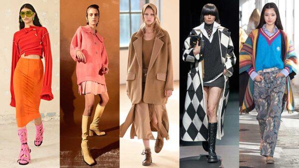Modekleuren winter 2021 2022. De allernieuwste modekleuren. Knotsgekke kleurcombinaties en serieuze lookjes. Wat jij?