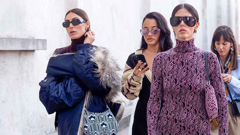 Streetstyle mode Prada herfst winter 2021 2022