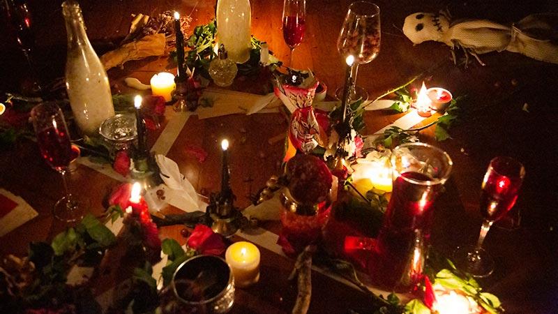 21 December. Heksen en wicca