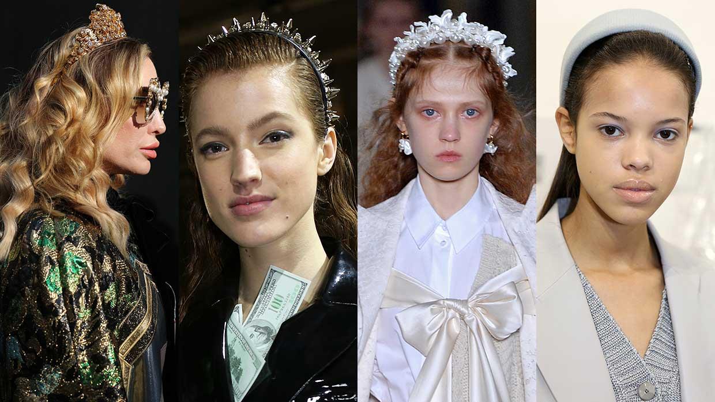 Haar accessoires winter 2020 2021. Diademen en haarsieraden