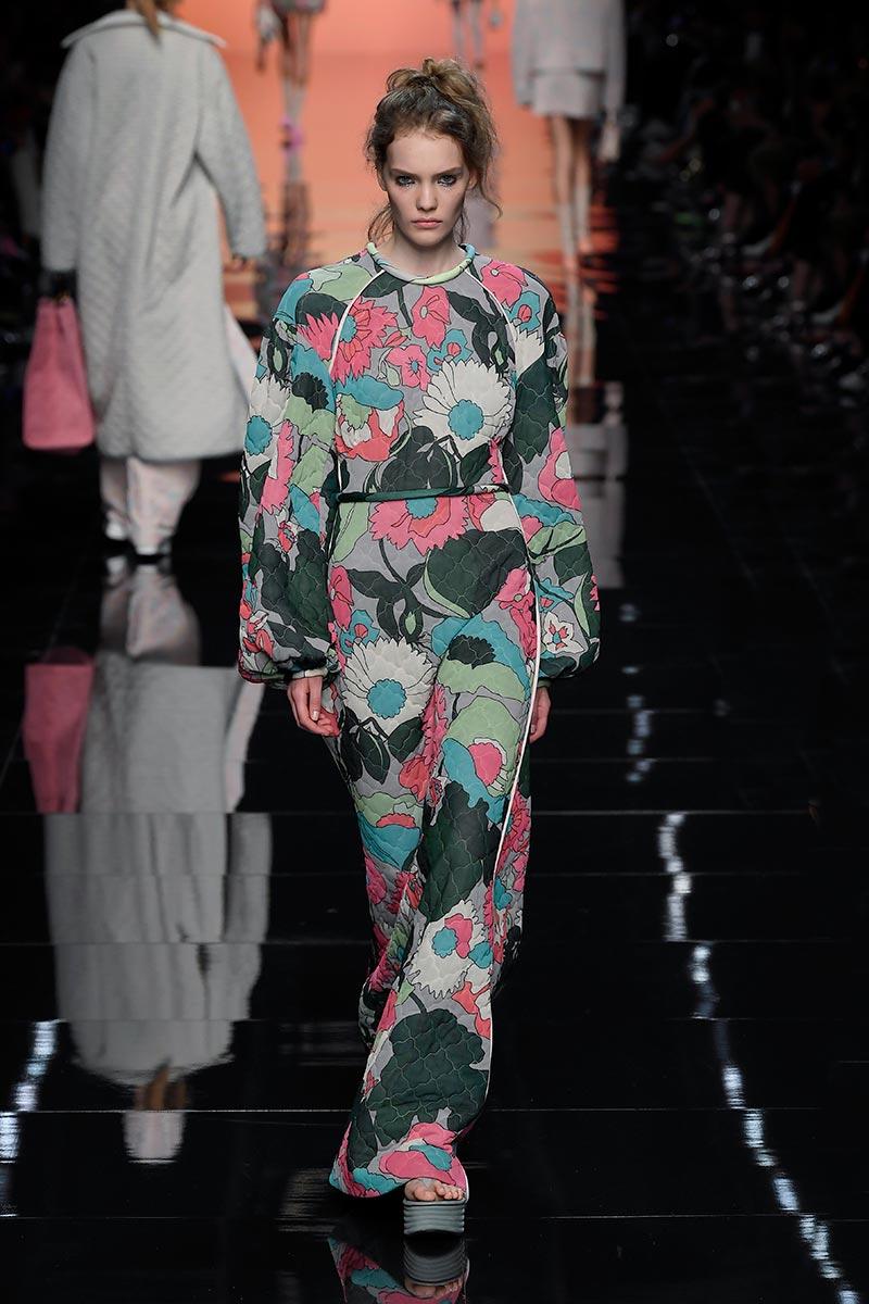Modecollectie Fendi lente zomer 2020