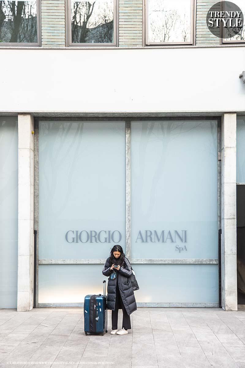 Milan Fashion Week. Giorgio Armani showt achter gesloten deuren vanwege Corona uitbraak