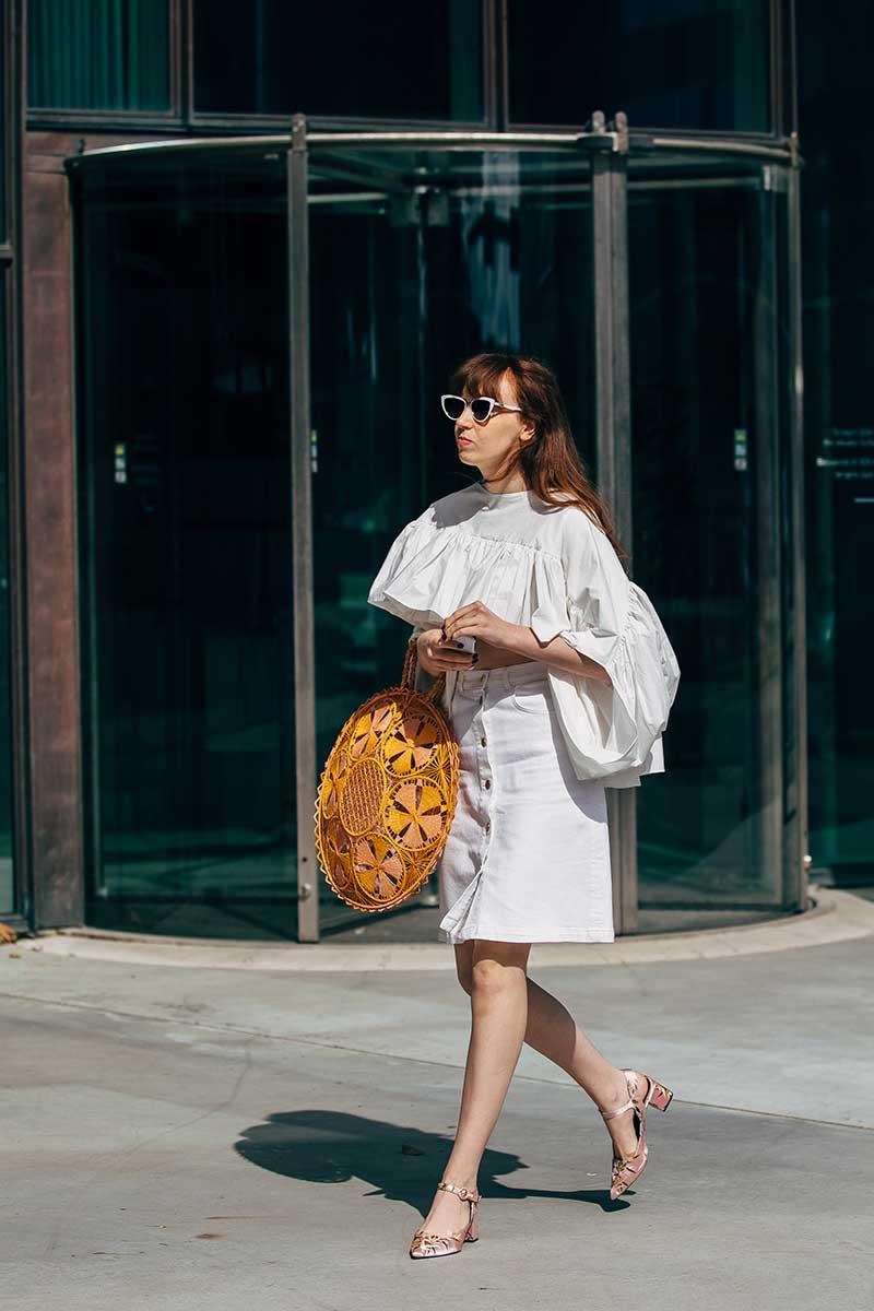 Streetstyle mode zomer 2020. Foto: Copenhagen Fashion Week by Styledumonde