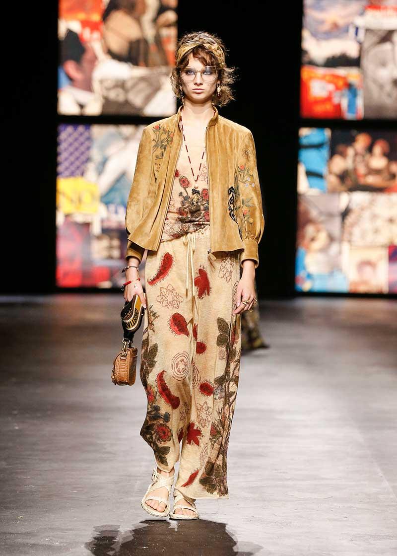 Modetrends lente zomer 2021. Modeshow: Dior