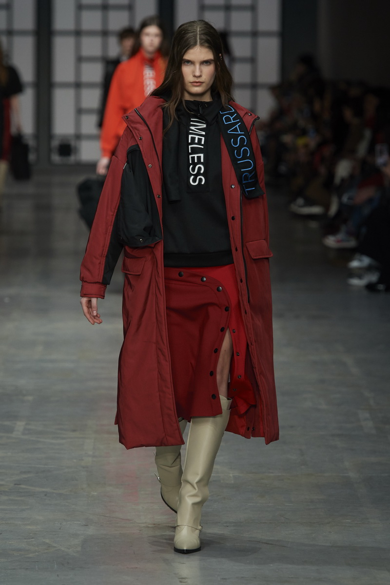 Trussardi herfst winter 2018 2019