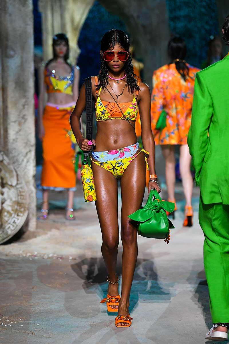 Strandmode 2021. Deze bikini zijn puur glamour