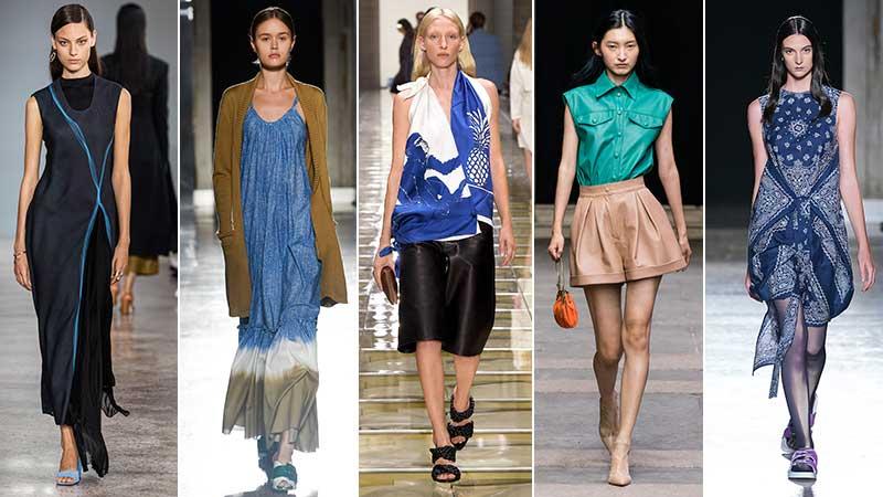 Modekleur blauw zomer 2020 - Lente Zomer 2020