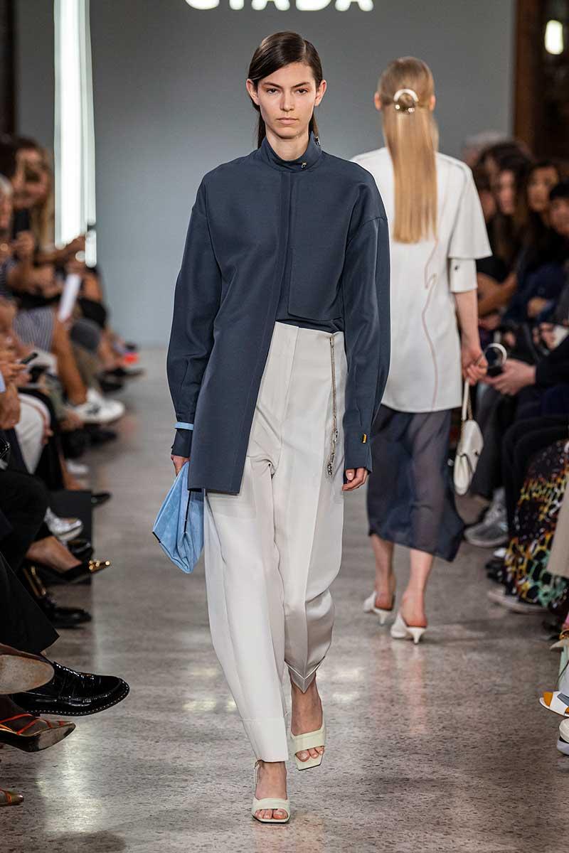 Modekleur blauw zomer 2020 - Giada Lente Zomer 2020