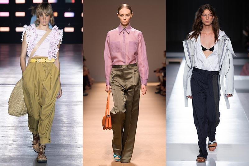 Modetrends lente zomer 2019. Zomerbroeken