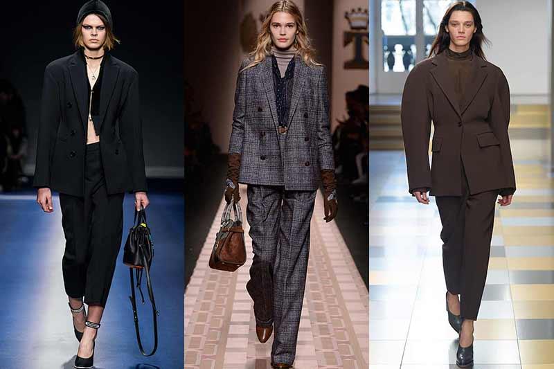 Mode trends winter 2017 2018. Broekpakken