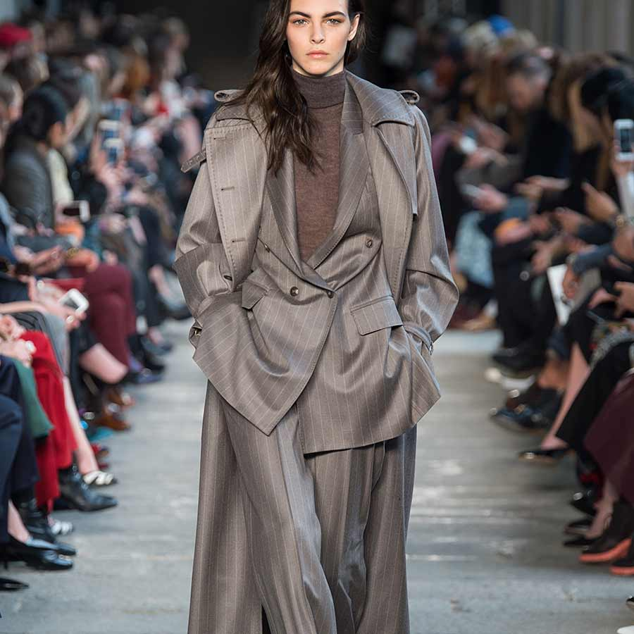 Mode trends winter 2017 2018. Broekpakken. Max Mara
