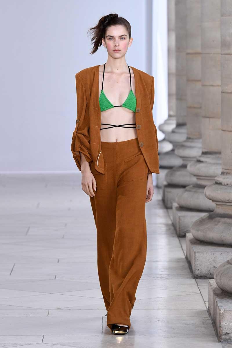 Mode trends 2018. Broekpakken zijn hot