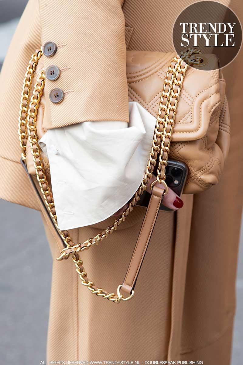 Modetrends voorjaar 2020. Camel kleuren