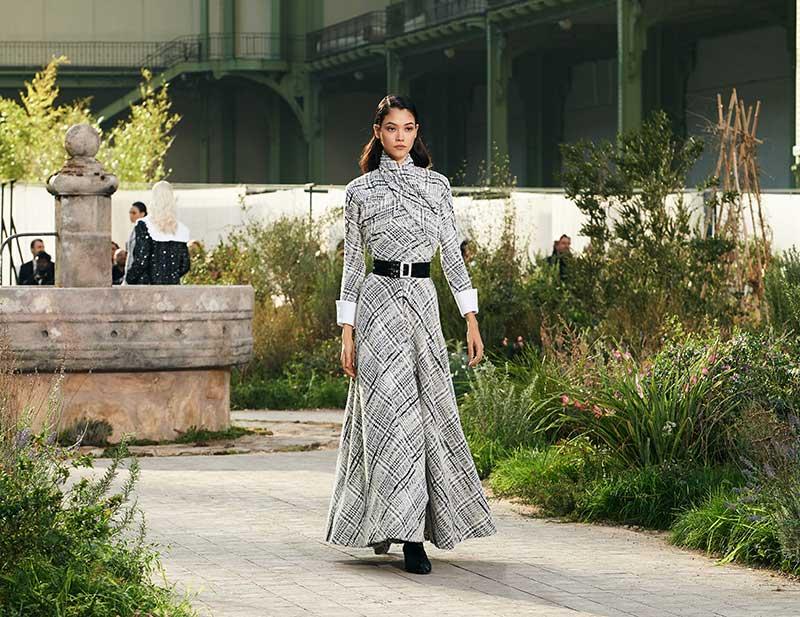 Chanels nieuwste Haute Couture collectie lente zomer 2020. Foto: Chanel