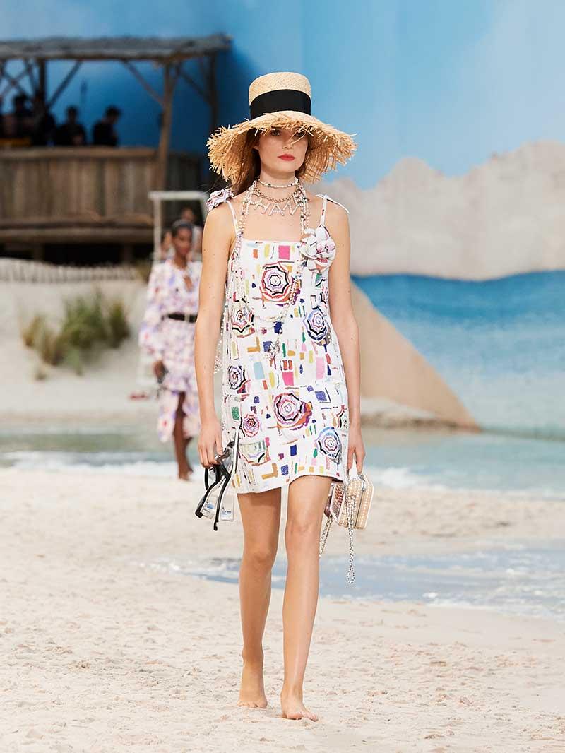 Mode collectie Chanel lente zomer 2019