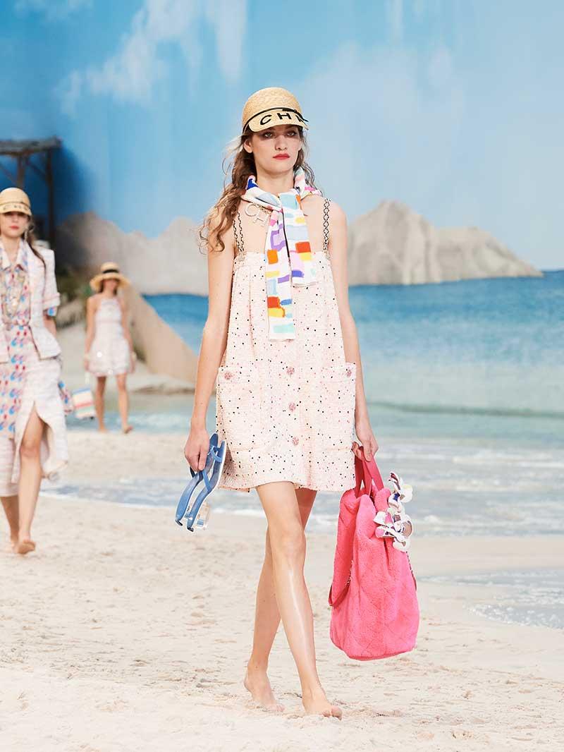 Mode collectie Chanel lente zomer 2019. Foto: Chanel