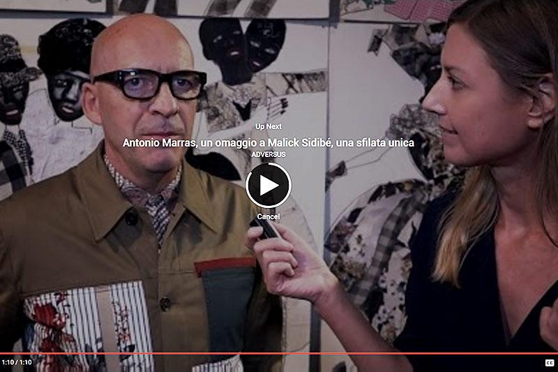 Charlotte Mesman interviewt de Itailaanse modeontwerper Antonio Marras