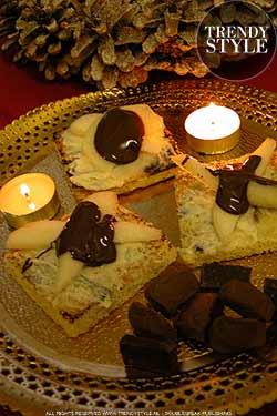 Eenvoudige chocoladerecepten voor de feesten