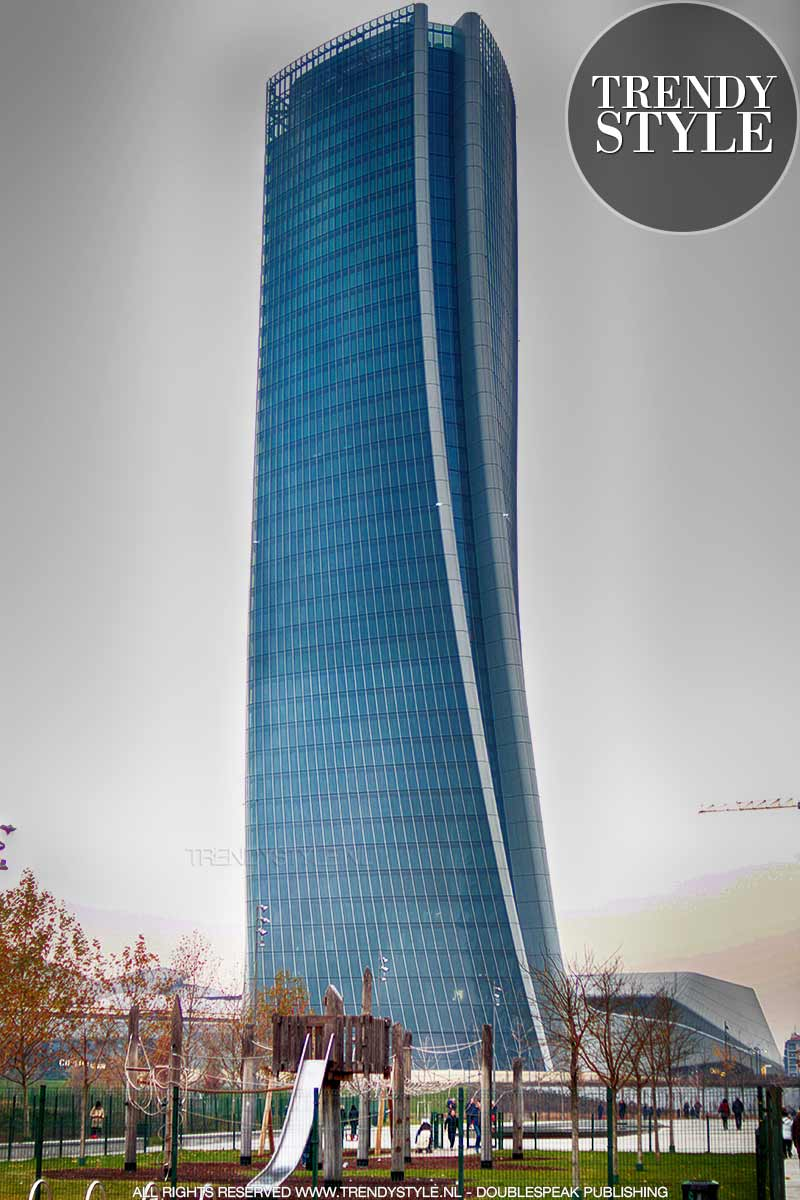 Wolkenkrabbers in Milaan