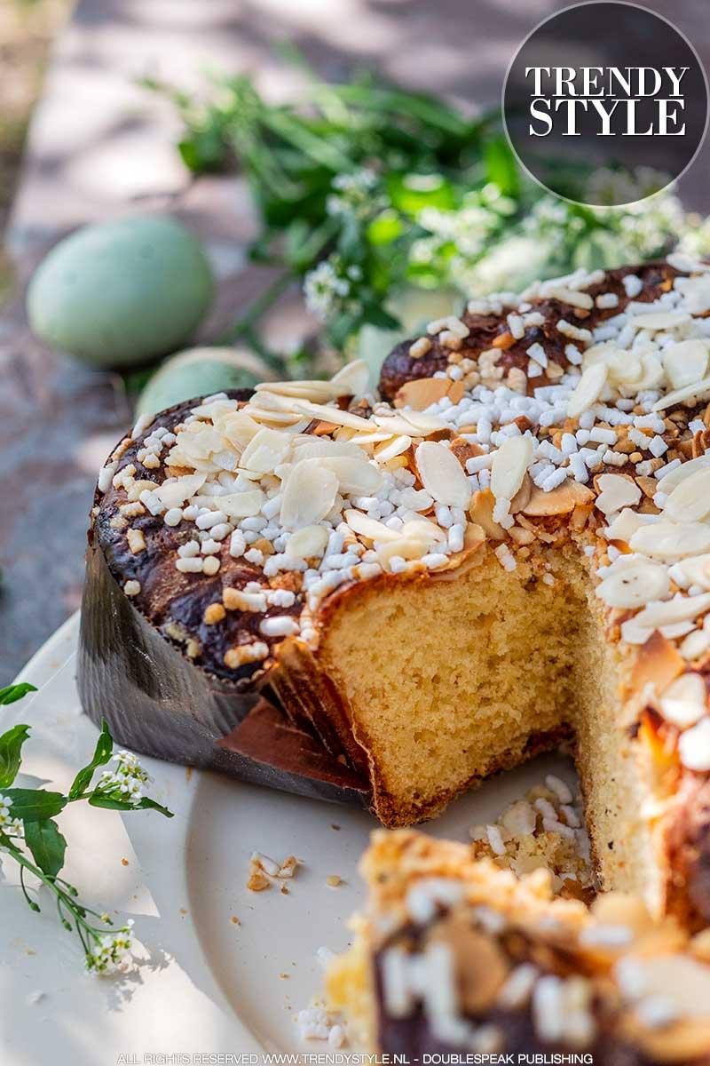 Paasrecept. Colomba bakken. Zelf Italiaans paasbrood maken