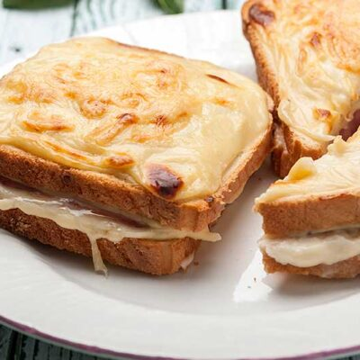 Zin in comfort food? Maak een Croque Monsieur tosti