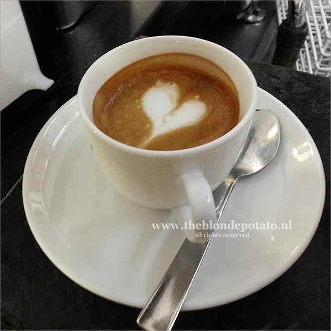 Espresso met hart