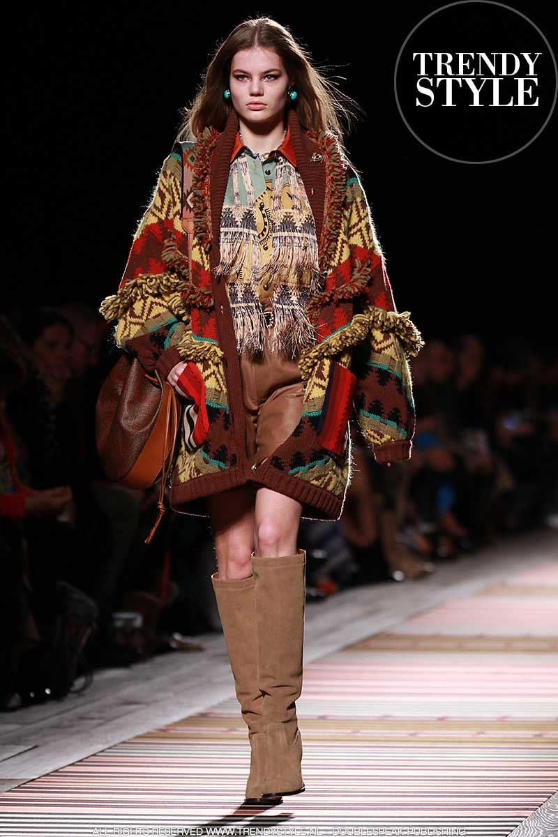 Mode winter 2018. Fashion Show: Etro