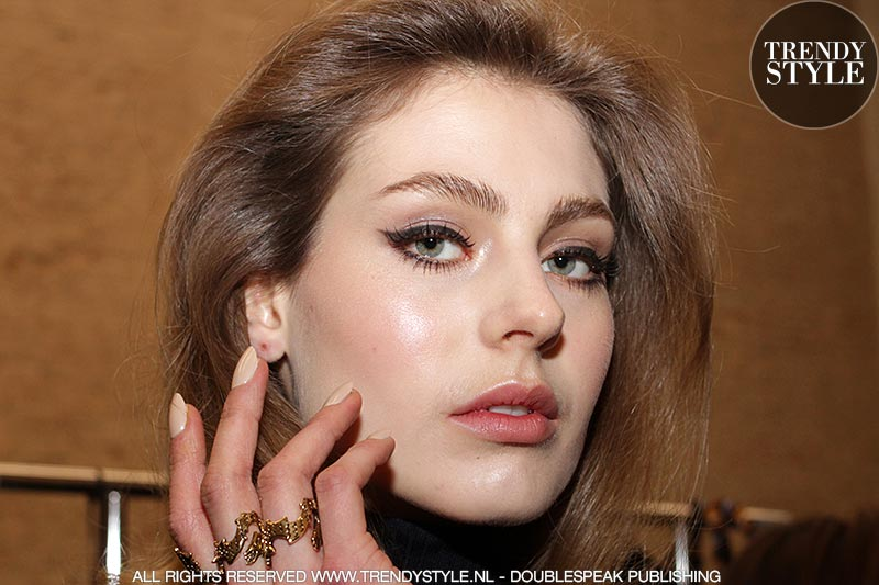 Oogmake-up en eyeliner