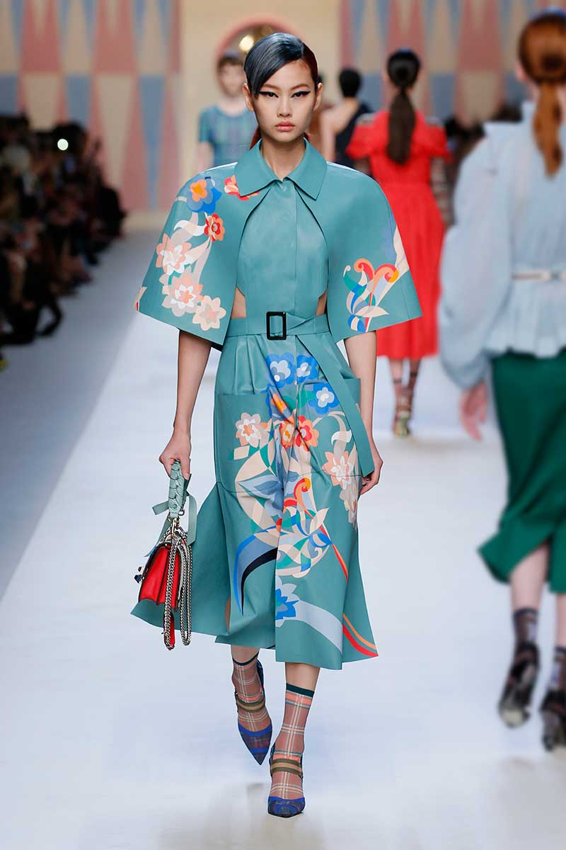 Fendi lente zomer 2018, photo: courtesy of Fendi