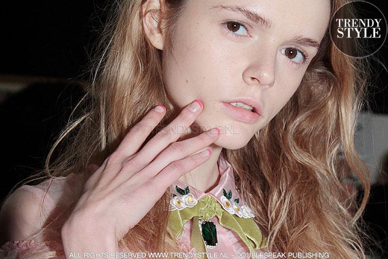 French manicure in babykleurtjes