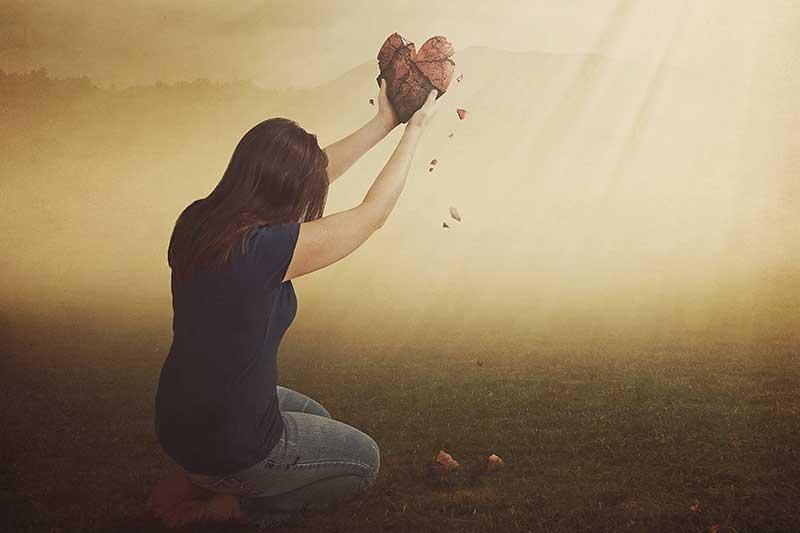 Liefdesverdriet? Genees je gebroken hart!