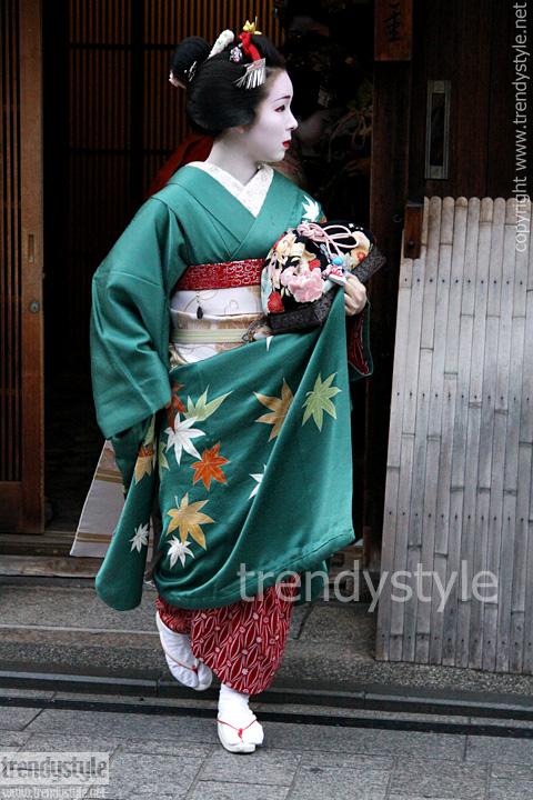 Maiko in Kioto