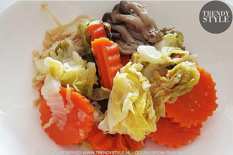 Detox met groentenmaaltijden