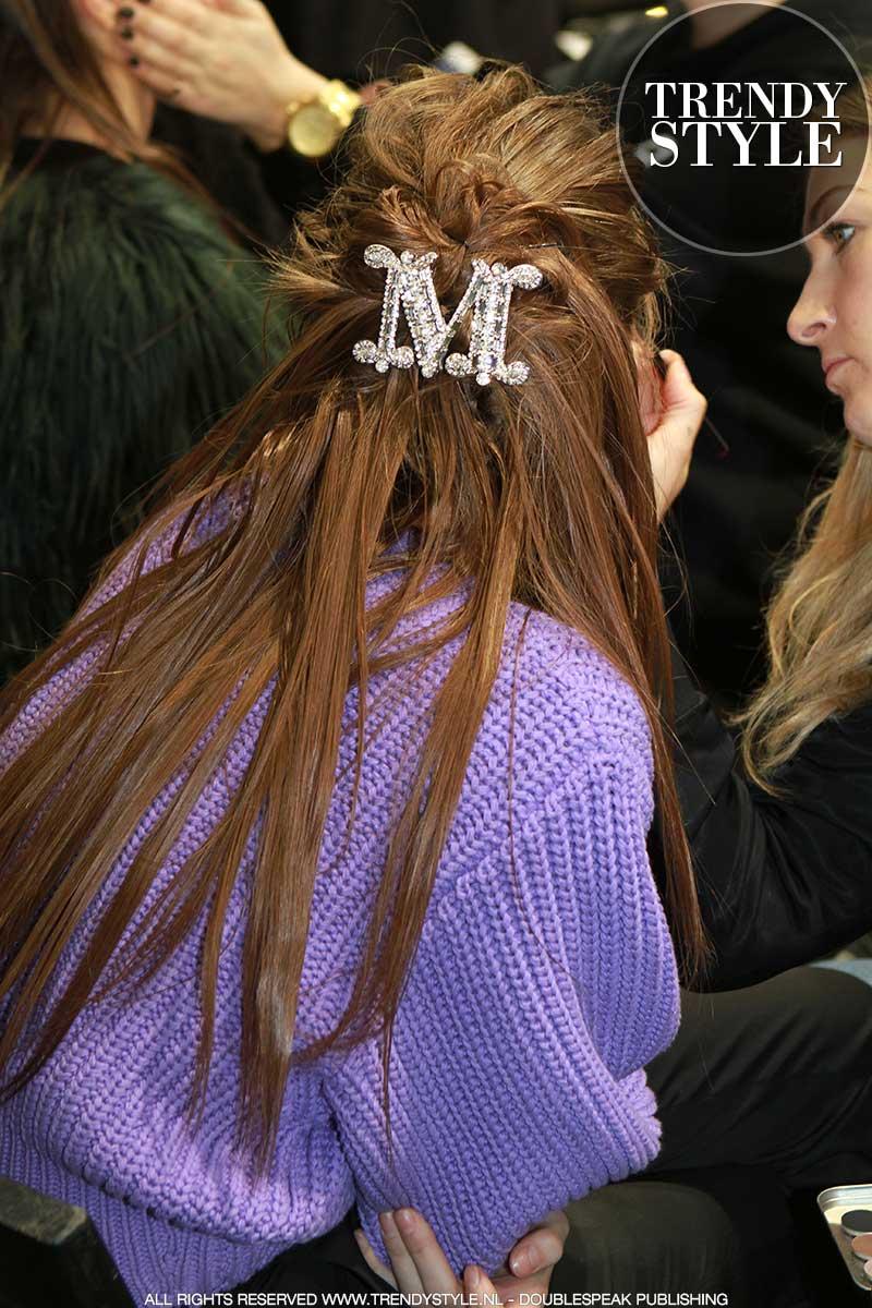 Haarkleur trends en haaraccessoires herfst winter 2018 2019