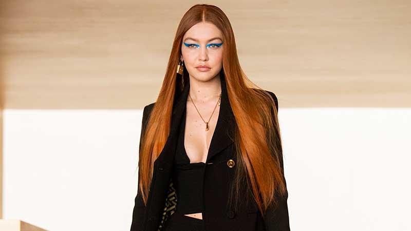 Haarkleurtrends 2021. Statement kleuren. Rood haar.