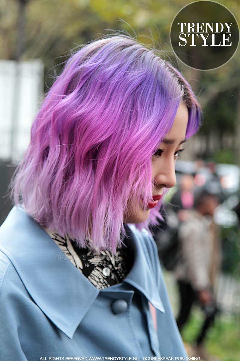 Haarkleurtrends winter 2018