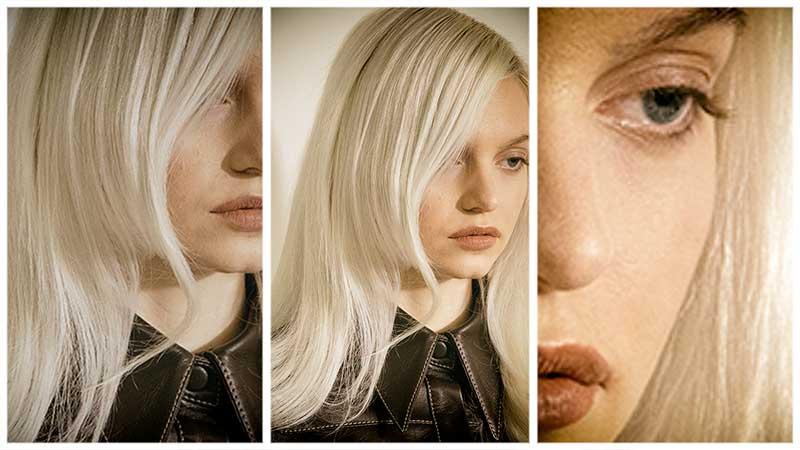 Haarkleurtrends herfst winter 2020 2021. Deze platinablonde kleur is waanzinnig chic!